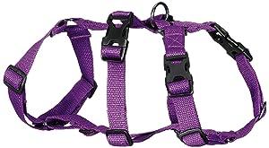 Petslike Double H Harness Purple ( Size Small ), Purple, Small, 250 g