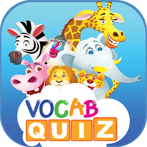 Kids Vocabulary Games : animals and fruits english vocab quiz game app for your children educational learning free!