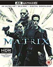 The Matrix (4K UHD + Blu-ray + Digital Download) (3-Disc Box Set) (Slipcase Packaging + Region Free + Fully Packaged Import)