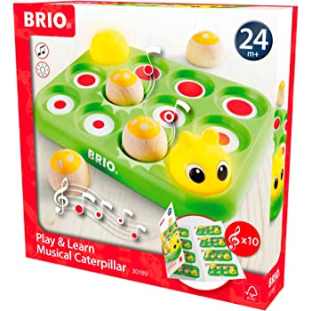 BRIO Infant & Toddler - Play & Learn Musical Caterpillar