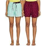Indigo Women's Bermuda Shorts Western Rayon Casual
