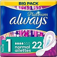 Always Platinum Normal (T1) Serviettes hygiéniques Ailettes 22