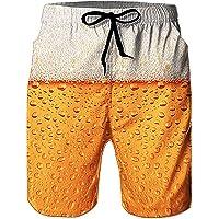 Loveternal Uomo Costume da Bagno Quick Dry Pantaloncini da Spiaggia Stampato Swim Trunks