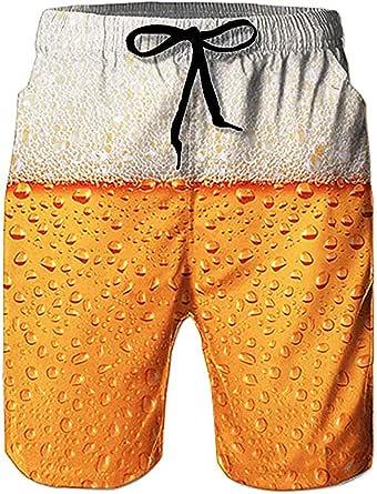 Loveternal Costumi Uomo Mare Asciugatura Veloce Pantaloncini da Boxer Costume da Bagno M-XL