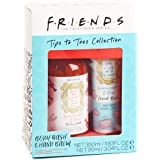 Paladone Friends TV Show Tips to Toes Collection - Body Wash and Hand Balm