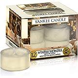 Yankee Candle Candela Profumata Tea Light, Meraviglia D'Inverno