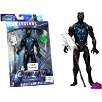 WOW Toys - Delivering Joys of Life || Legend Series || Black Panther Action Figure || Power FX ||15 cm || Black