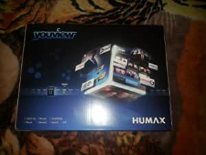 Humax DTR-T1010 500GB YouView HD TV Recorder with Freeview