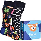Happy Socks 2-Pack Dog Lover Unisex - algodón