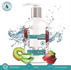 HealthKart Apple Cider Vinegar Shampoo - Anti Hairfall - No Paraben & Sulphate- 300 ml