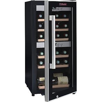 Weinkeller La Sommelière ECS25.2Z von FRIO | 24 Flaschen - Zwei Temperaturzonen | Kleine Stellfläche