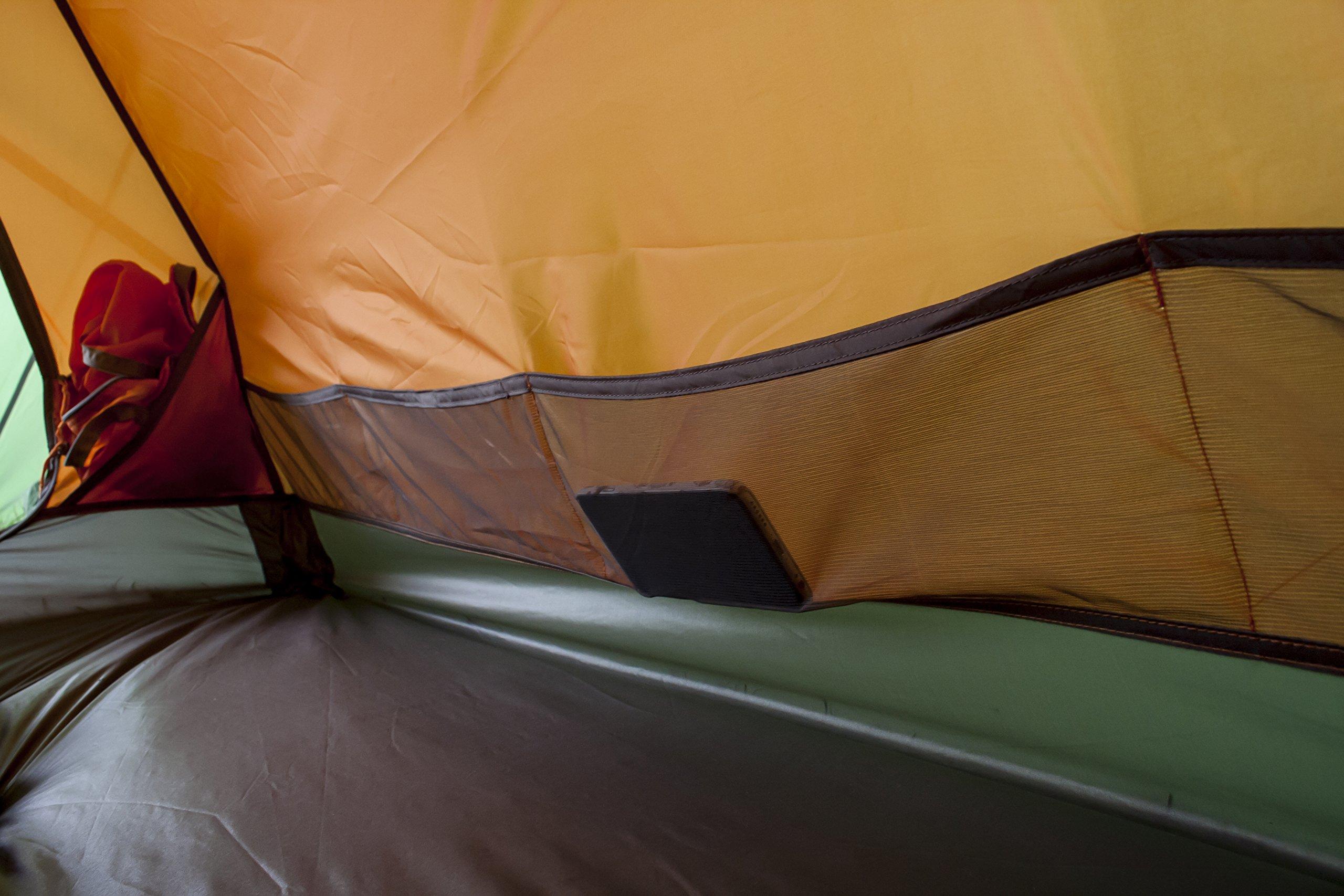 Vango Orion Trekking Tent, Cactus Green, 200 5