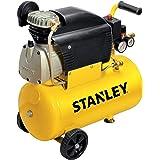 Stanley D211/8/24 compressor, 24 liter, 2 Hp, 230 V, geel, 24 kg