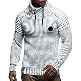 Leif Nelson Men's Pullover Knit Sweater LN-5235