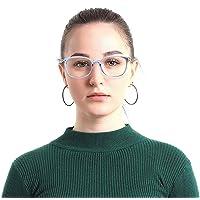 Occhiali Anti Luce Blu Rotondi Grandi Vintage Occhiali Bloccanti per il Blocco Della Cefalea UV [ Anti Eyestrain…