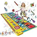 LEADSTAR Tappeto Musicale Bambini,Tappeti Musicali Pianoforte Gioco Musicale per Bambini,Tappeto Danza Piano Mat Strumenti Mu