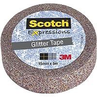 Scotch C514-MUL-WE Ruban Expressions 15 mm x 5 m Pailleté Multicolore