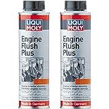 Liqui Moly Engine flush Plus Lot de 2 liquides de nettoyage de moteur, 300 ml