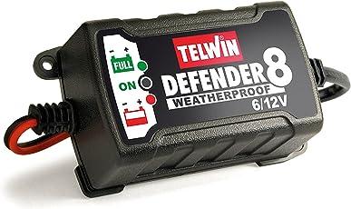 TELWIN Defender 8 Mantenitore e Caricabatterie Elettronico 6/12V