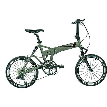 Dahon Jetstream D8 – Bicicleta Plegable para Adulto, Quarry Gris, Talla 20