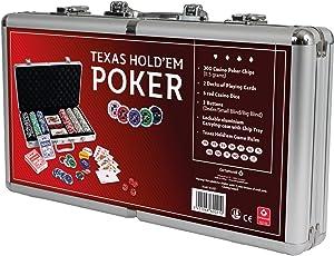 Cartamundi 106010337–Entry Poker Set