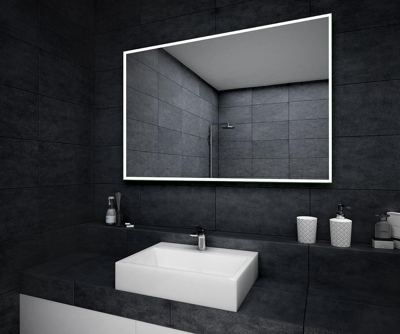 LED Illuminated Bathroom Mirror By Artforma To Measure Custom Size