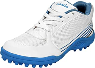 salvatixx White/Blue Men's Cricket Shoe (Free Delivery)