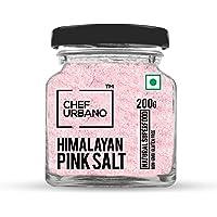 Chef Urbano Himalayan Pink Salt Bottle, 200 g