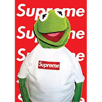 Fotojig Kermit The Frog Supreme A4 Small Icon Poster Rare Muppets