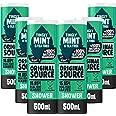 Original Source Mint & Tea Tree Shower Gel, Large Vegan Shower Gel, Paraben Free Body Shower, 100% Natural Fragrance, Multipa
