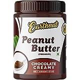 Earthnut Peanut Butter Chocolate Creamy (Non-GMO, Gluten Free, Vegan) - 1Kg