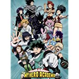 """ABYstyle - MY HERO ACADEMIA - Poster """"Héros"""" (52x38)"""