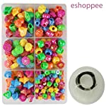 eshoppee Jewellery Making Fitting kit Includes Lobster Claps, Jump Ring, keel, kunda, Earring, Necklace end Locking...