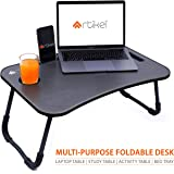 Artikel Multi-Purpose Laptop Table | Integrated Carry Handle & Dock Stand | Study & Bed Table | Foldable & Portable…