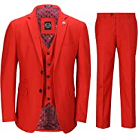 Xposed Mens Piece Business Suit Smart Casual Classic Tailored Fit Office Work Formal