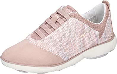 Geox Sneaker Donna Pelle Scamosciata Rosa