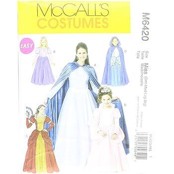 McCalls MC 6420MIS (SML-LRG) Schnittmuster zum Nähen, Elegant ...