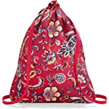 Reisenthel Mini Maxi Sacpack Turnbeutel, 43 cm, 15 L, Paisley Ruby