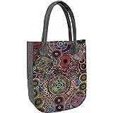 BERTONI CITY Shopper Filztasche Handtasche aus Filz Damentasche Tasche verschiedene Muster