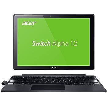 Acer Switch Alpha 12 SA5-271-53QS 30,5 cm (12 Zoll QHD Touch IPS) Convertible Laptop (Intel Core i5-6200U, 8GB RAM, 256GB SSD, Windows 10) silber