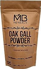 MB Herbals Pure Oak Gall Powder 100g / 3.5 oz - 100% Pure Quercus Infectoria/Majuphal / Manjakani