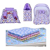 Fareto® Baby Complete Sleeping Essentials All in One Gift Pack(Total Products:10)(0-6 Months)