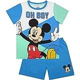 Disney Mickey Mouse Niños Pijamas Camiseta y Pantalones Cortos Clubhouse