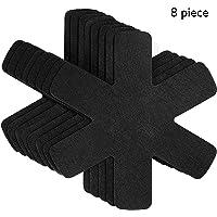 Proteggi pentole e salvapadelle   Set 8 pezzi   Lunghezza 38 cm   Perfetti per pentole e padelle antiaderenti in acciaio inox  ghisa  ceramica