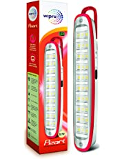 Wipro Pearl Rechargeable Emergency LED Lantern (Red)