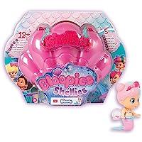 Bloopies Shellies - Piccole bambola sirene a sorpresa da collezione con accessori, conchiglia di borsa, Giocattolo d…