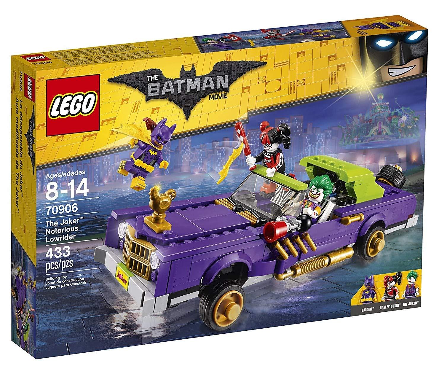 LEGO Batman – Coche Modificado de The Joker, Juguete de Construcción con los Personajes de DC (70906)