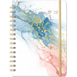 2021-2022 Diary – Weekly Monthly Diary 2021-2022 for July 2021 – June 2022, 21.4 x 16.5 cm, Flexible Cover Planner with Elast