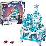 LEGO 41168 Disney Frozen II Elsa's Jewelry Box Creation with Princess Elsa Mini Doll and Nokk Figure Lockable Drawer, Mirror