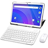 4G LTE Tablet 10 Pollici,SUMTAB Android 10.0 Tablet PC con Tastiera,8-Core,4GB RAM+64GB ROM,Schermata G+G,GPS,Bluetooth,Suppo